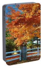 Portable Battery Charger featuring the photograph The Old Yard Light by Robert Pearson