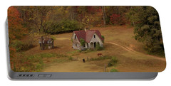 The Oldest House In North Carolina Portable Battery Charger by Sharon Batdorf
