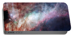Portable Battery Charger featuring the photograph The Omega Nebula by Eso