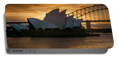 The Opera House Portable Battery Charger by Andrew Matwijec