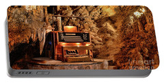 Portable Battery Charger featuring the photograph The Organ In Luray Caverns by Paul Ward
