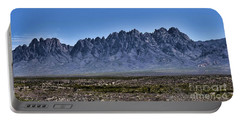 The Organ Mountains Portable Battery Charger by Gina Savage