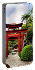 The Oriental Gate To Happiness Portable Battery Charger