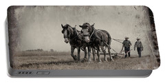 Portable Battery Charger featuring the photograph The Original Horsepower by Brad Allen Fine Art