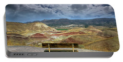 The Overlook At Painted Hills In Oregon Portable Battery Charger