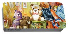 The Oxfam Camel And Teddy Bears Portable Battery Charger