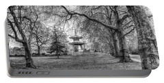The Pagoda Battersea Park London Portable Battery Charger