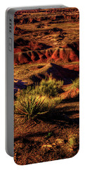 The Painted Desert From Kachina Point Portable Battery Charger