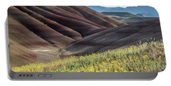 The Painted Hills In Bloom Portable Battery Charger