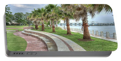 The Palms Of Water Front Park Portable Battery Charger