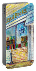 The Paperbacks Plus Book Store St Paul Minnesota Portable Battery Charger