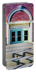Portable Battery Charger featuring the photograph The Paramount Theatre by Colleen Kammerer