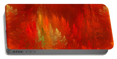 The Passion  Forest - Fantasy Art By Giada Rossi Portable Battery Charger by Giada Rossi