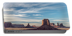 Portable Battery Charger featuring the photograph The Past by Jon Glaser