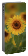 The Patch Of Sunflowers Portable Battery Charger
