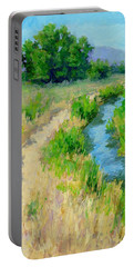 The Path By The Ditch Portable Battery Charger
