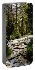 The Path In The Forest Portable Battery Charger