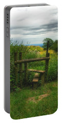 Portable Battery Charger featuring the photograph The Path Most Traveled  by Connie Handscomb