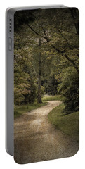 Portable Battery Charger featuring the photograph The Path by Ryan Photography