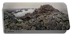 The Path Of Stones In The Sunlight Portable Battery Charger by Jaroslaw Blaminsky