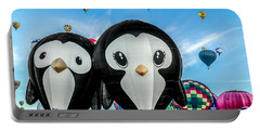Puddles And Splash - The Penguin Hot Air Balloons Portable Battery Charger