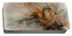 The Penitent Man - Fractal Art Portable Battery Charger by NirvanaBlues