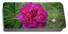 Portable Battery Charger featuring the photograph The Peonie by Mark Dodd