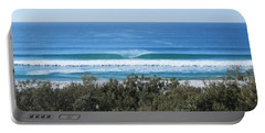 The Perfect Wave Sunrise Beach Queensland Australia Portable Battery Charger