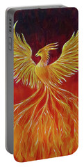 The Phoenix Portable Battery Charger by Teresa Wing