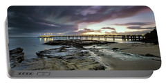 The Pier @ Lorne Portable Battery Charger by Mark Lucey