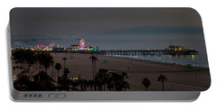 The Pier After Dark Portable Battery Charger
