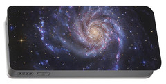 The Pinwheel Galaxy, Also Known As Ngc Portable Battery Charger