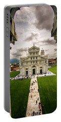 The Pisa Cathedral From The Bapistry Portable Battery Charger