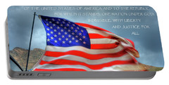 The Pledge  Allegiance Portable Battery Charger