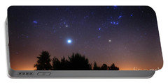 The Pleiades, Taurus And Orion Portable Battery Charger
