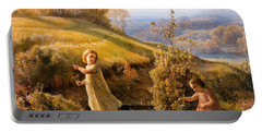 The Poem Of The Soul Spring Anne Francois Louis Janmot 1854. Portable Battery Charger