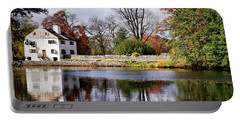 The Pond And The Manor House Portable Battery Charger