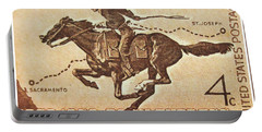 The Pony Express Centennial Stamp Portable Battery Charger