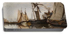 The Port Of Honfleur Portable Battery Charger
