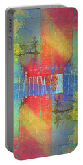 Portable Battery Charger featuring the digital art The Power Of Colour by Tara Turner