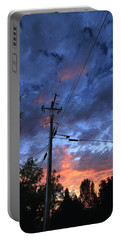Portable Battery Charger featuring the photograph The Power Of Sunset by Sean Sarsfield