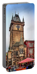 The Prague Clock Tower Portable Battery Charger