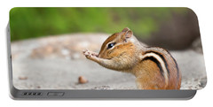 The Praying Chipmunk Portable Battery Charger
