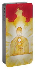 The Presence Of Jesus Christ In The Holy Eucharist Portable Battery Charger