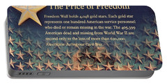 Portable Battery Charger featuring the photograph The Price Of Freedom by Marianna Mills