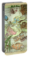 The Princess And The Frogs Portable Battery Charger