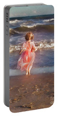 The Princess And The Sea Portable Battery Charger