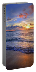 Portable Battery Charger featuring the photograph The Promise Of A New Day by Tara Turner