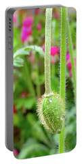 The Promise Of April Showers Portable Battery Charger by Bruce Carpenter