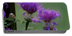 The Purple Bloom Portable Battery Charger